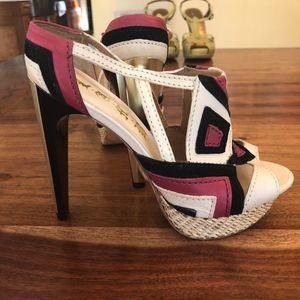 Pink Black White Beige LAMB L.A.M.B. Pump Heels